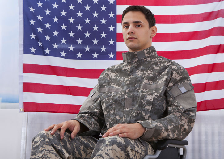 Disabled veteran with social security disability needs