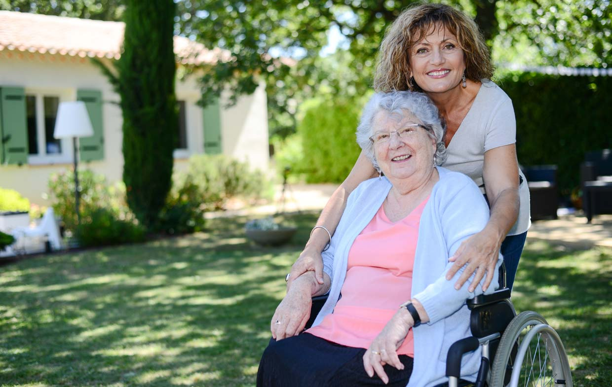 Caring for disabled widow widower benefits parent