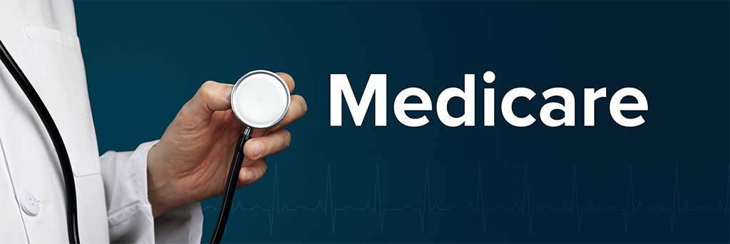 Medicare disability doctor with stethoscope