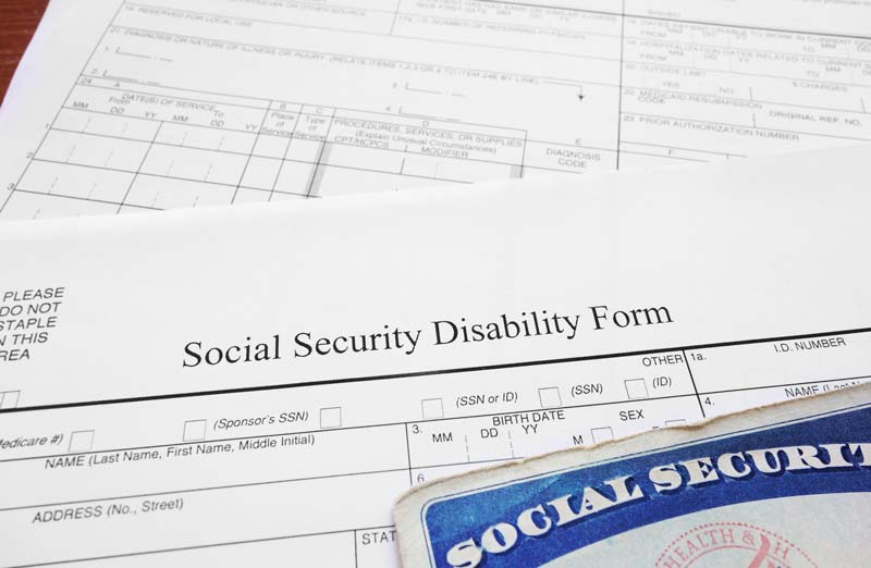 social security disability claims process paperwork