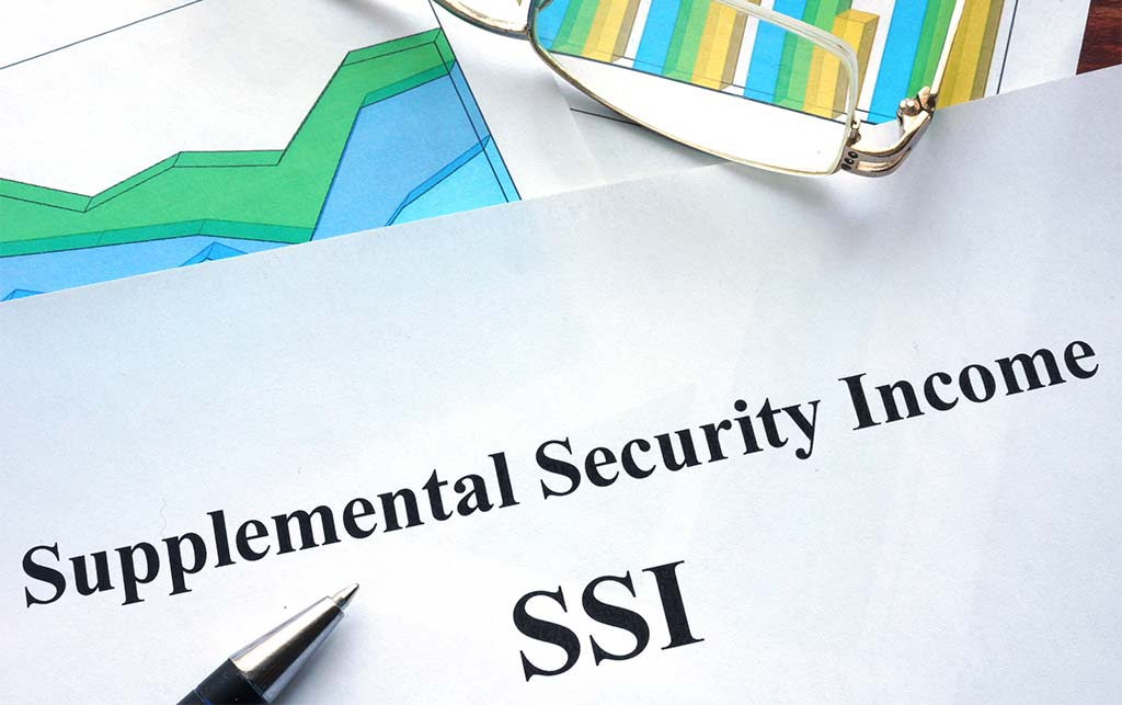 Supplemental security income benefits